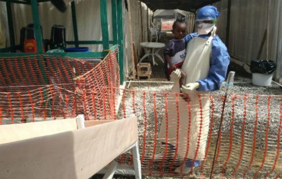 Ebola spøger stadig i Vestafrika.