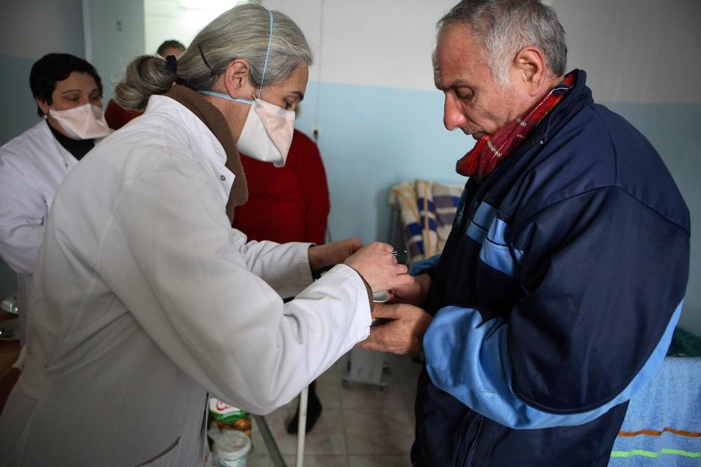 Tuberkulose er en stor udfordring i Georgien, hvor mange mennesker lider af multiresistent tuberkulose.
