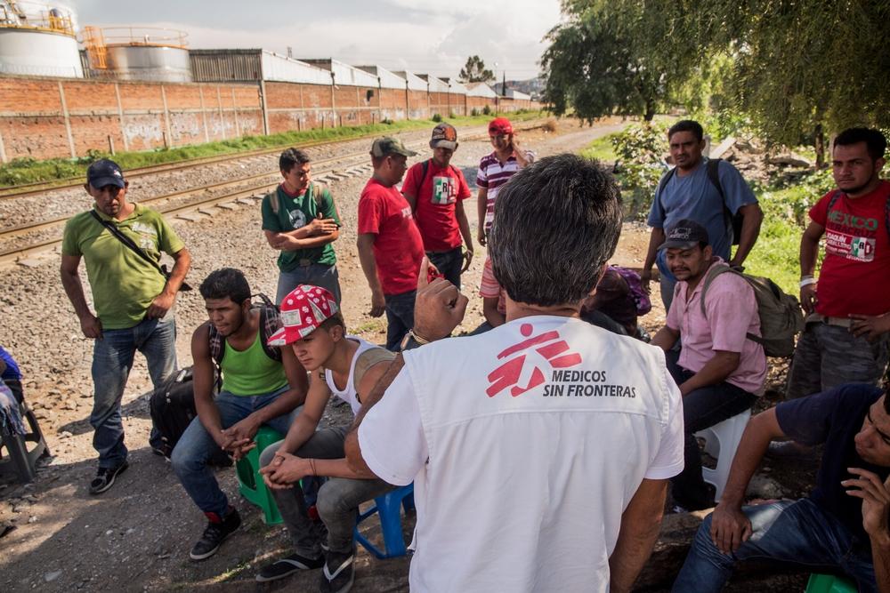 Volden i Mexico har alvorlige sundhedsmæssige konsekvenser for sårbare befolkningsgrupper. Vi hjælper migranter med læge- og psykologhjælp.