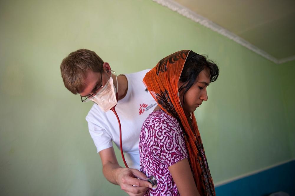 Vi fokuserer primært på at behandle børn og voksne i Tadsjikistan, der er smittet med tuberkulose.